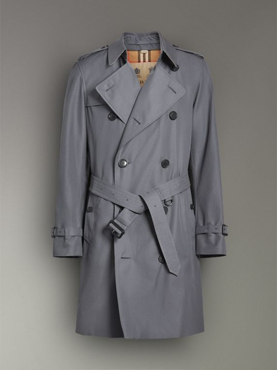 The Chelsea Heritage Trench Coat in Mid Grey - Men | Burberry United Kingdom - cell image 3