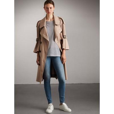 Burberry - Jean taille basse de coupe skinny délavé vintage - 5