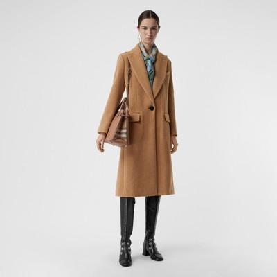 Burberry - Sac The Banner medium en cuir et coton House check - 3