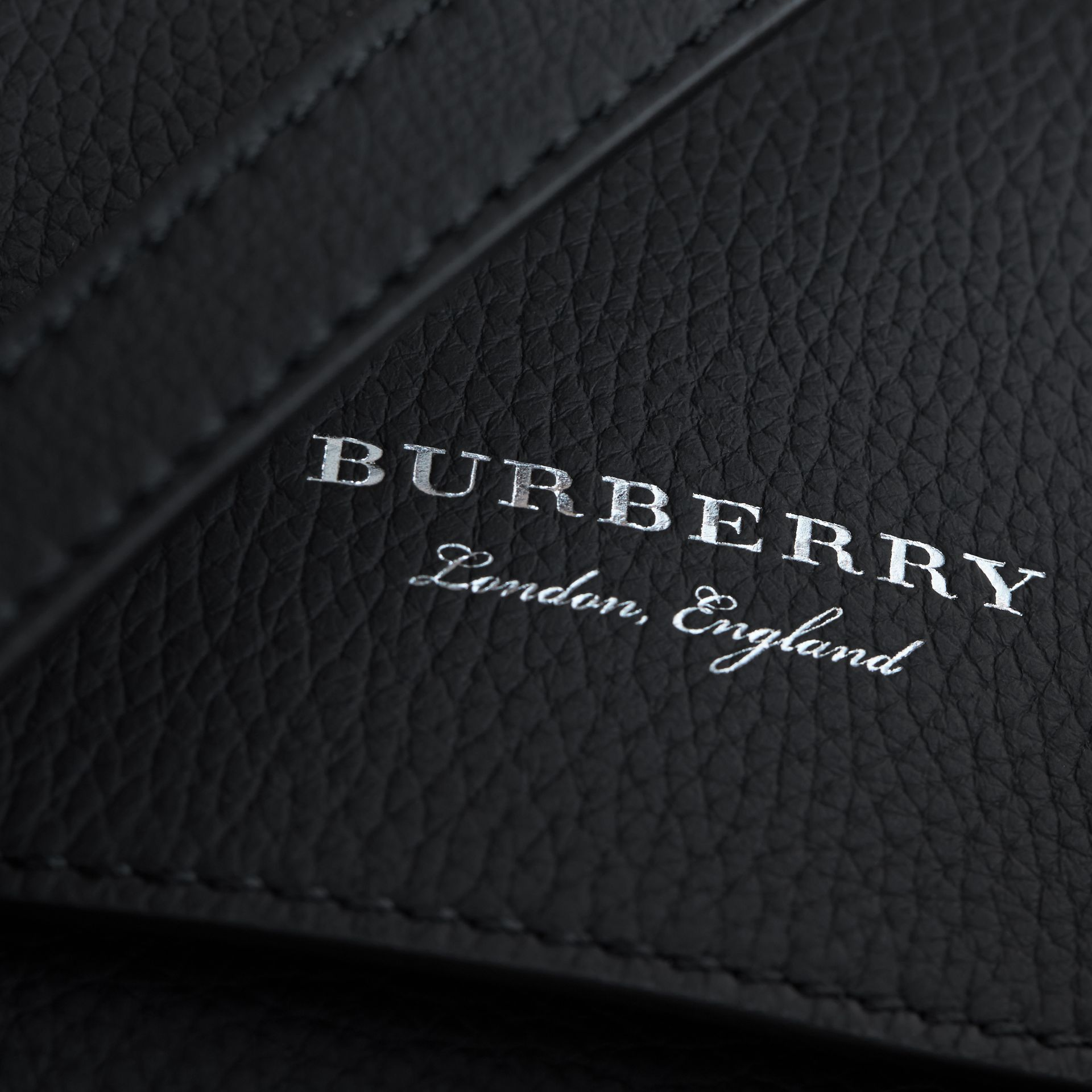 The Bridle Crossbody Bag in Deerskin in Black - Women | Burberry - gallery image 2
