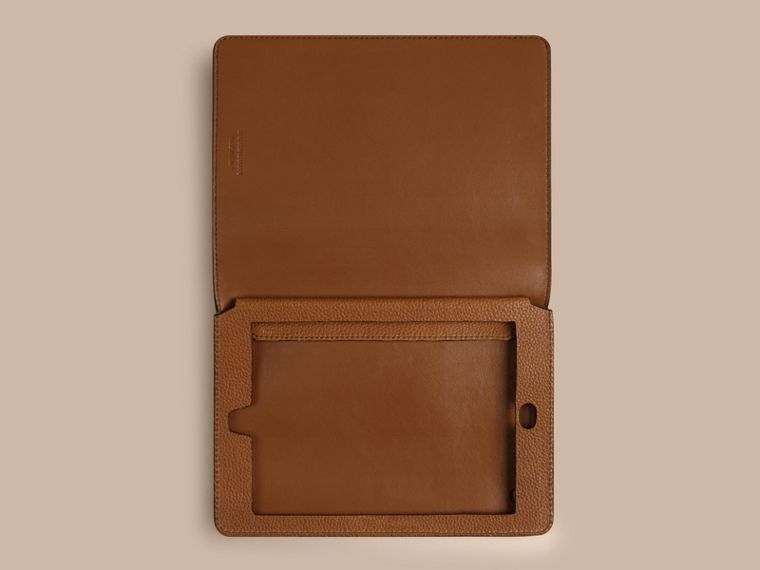 Tan Grainy Leather iPad Mini Case Tan - cell image 1