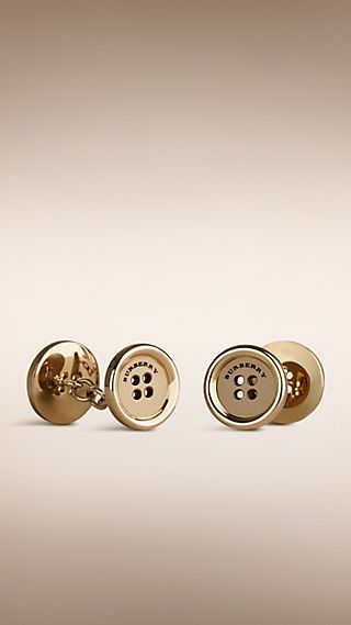Trench Button Cufflinks