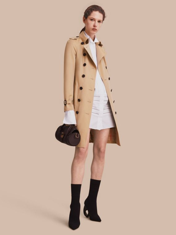 The Sandringham – Trench-coat Heritage long Miel
