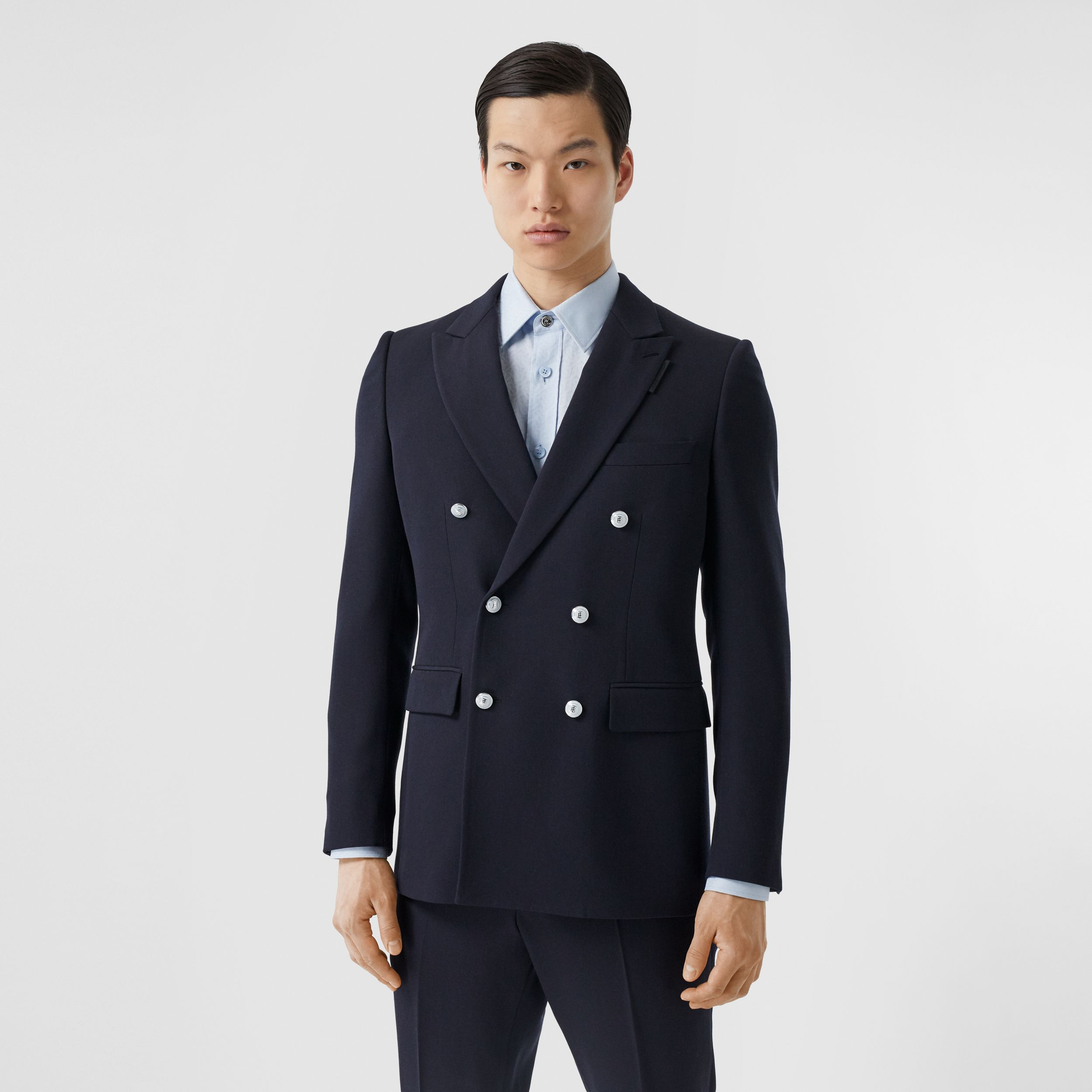 English Fit Wool Double-breasted Jacket - Men | Burberry - 1