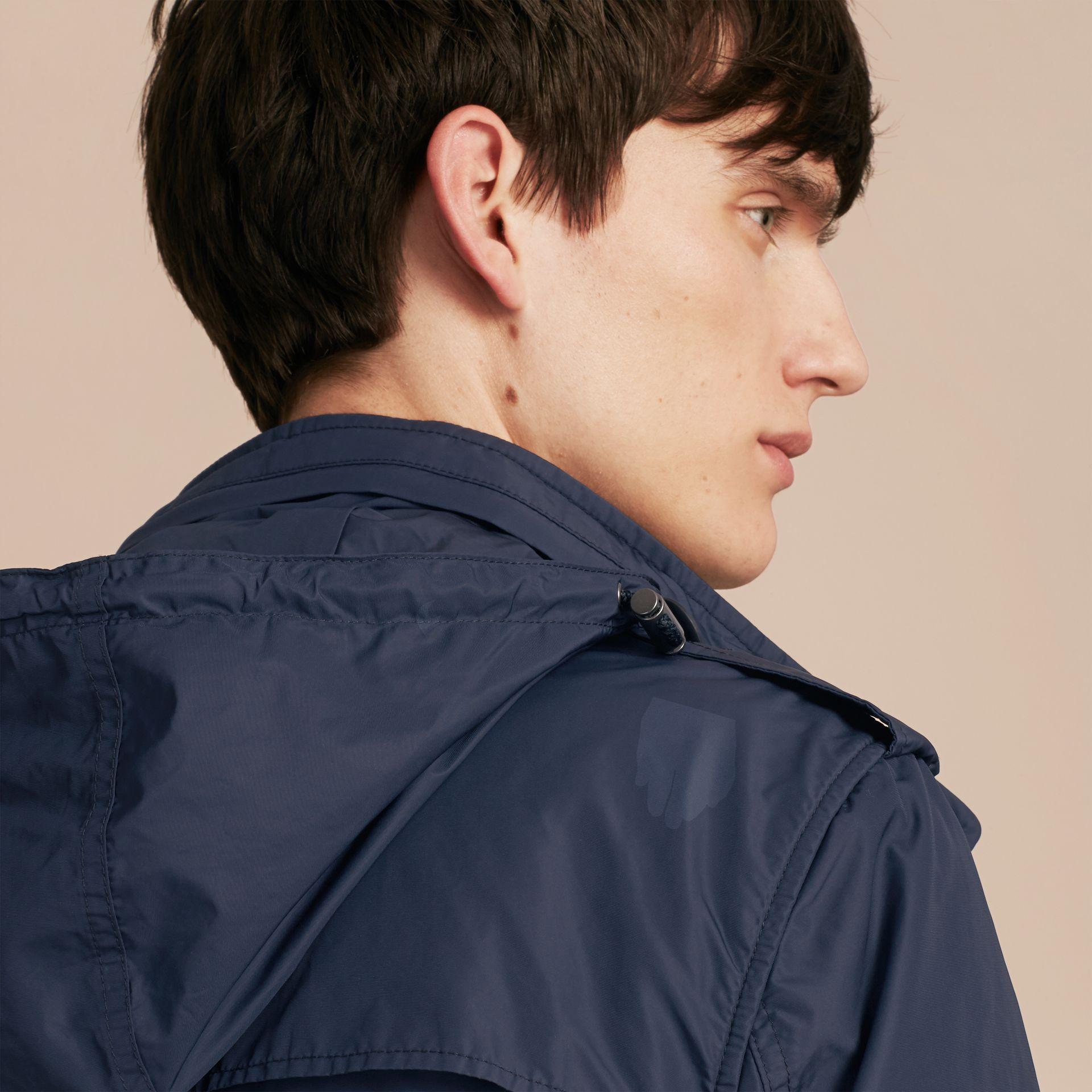 Navy Showerproof Field Jacket - gallery image 5