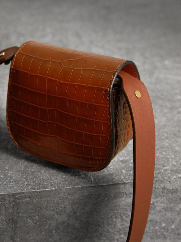 The Pocket Satchel in Alligator in Tan | Burberry Singapore - cell image 3