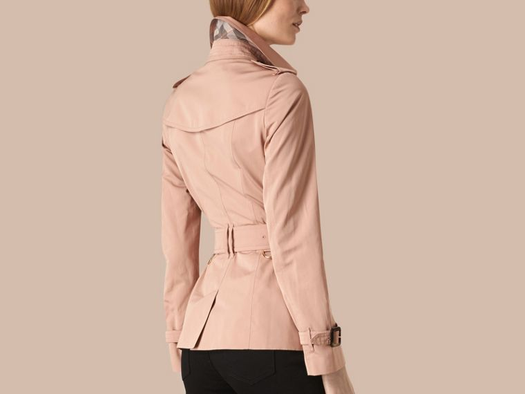 Nude Short Technical Trench Coat - cell image 1