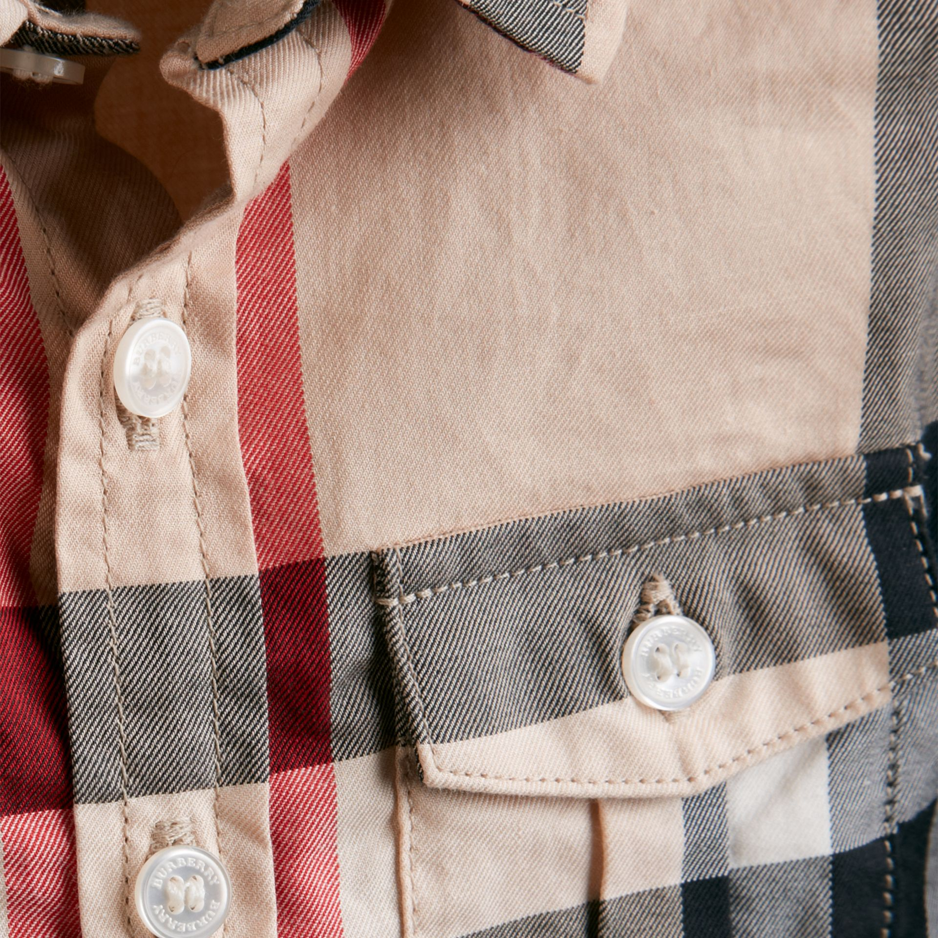 New classic Check Cotton Shirt - gallery image 2