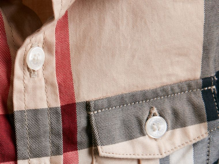 New classic Check Cotton Shirt - cell image 1