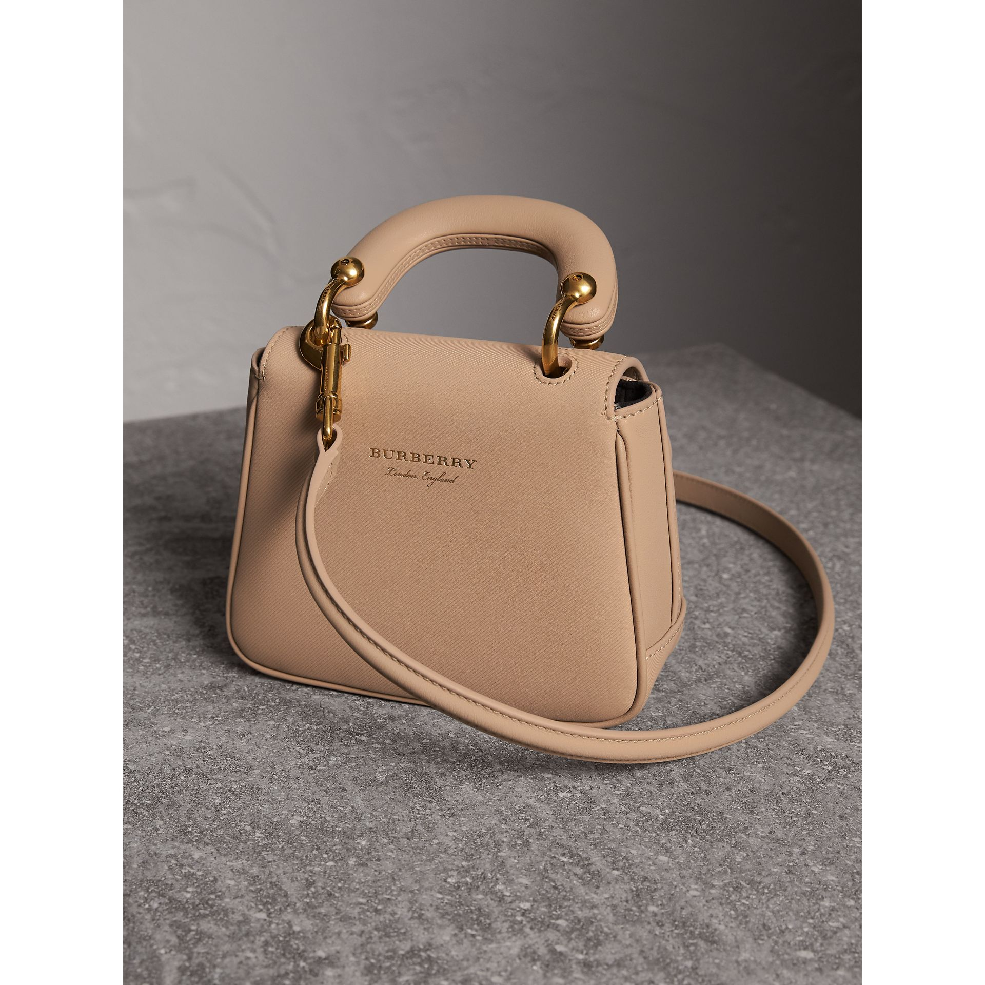 The Mini DK88 Top Handle Bag in Honey - Women | Burberry - gallery image 5