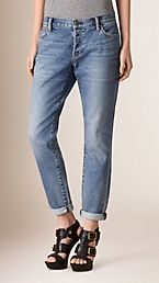Skinny Fit Low-rise Cropped Jeans