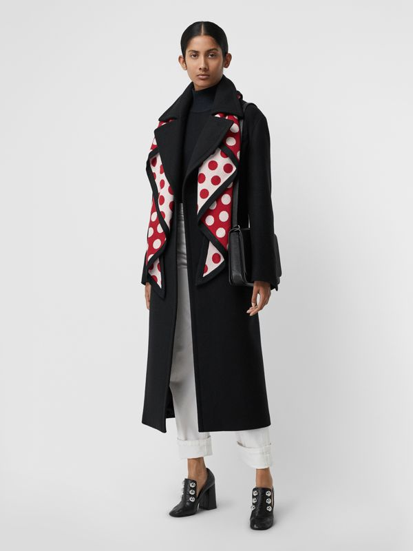 The Burberry Bandana in Spot Wool Blend in Multicolour | Burberry - cell image 2