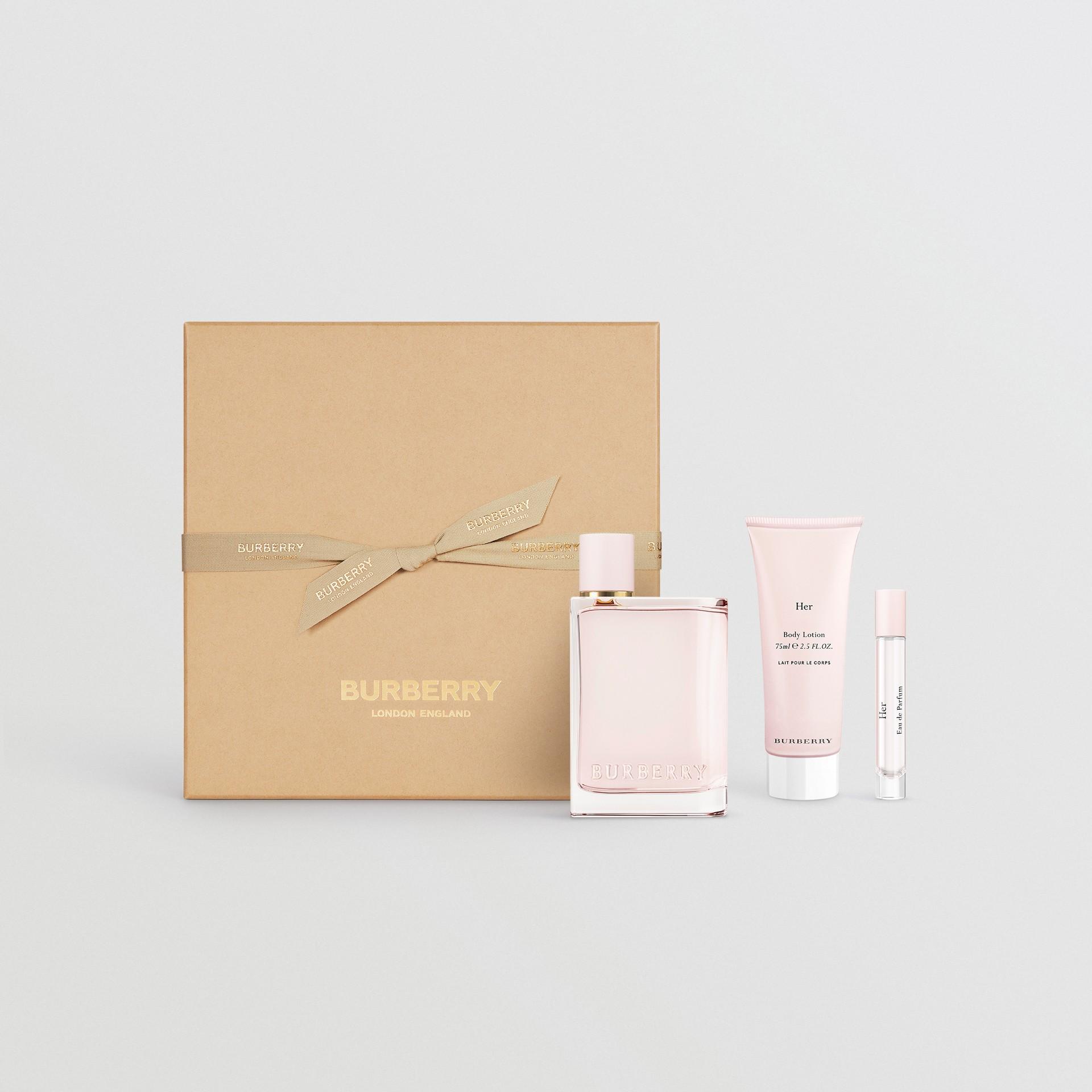 Her Eau de Parfum Gift Set in Honey - Women | Burberry United Kingdom - gallery image 0