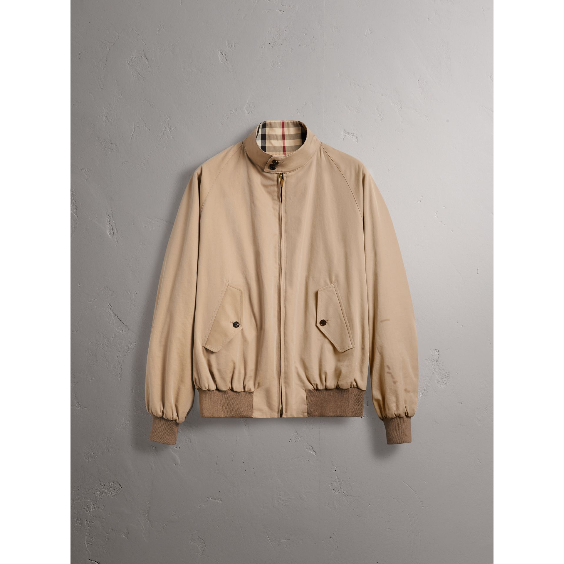 Gosha x Burberry Reversible Harrington Jacket in Honey | Burberry - gallery image 4