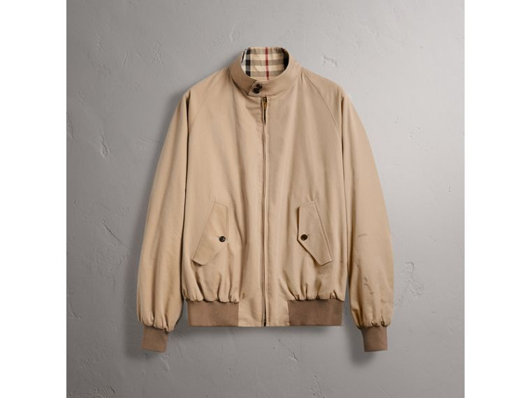 Gosha x Burberry Reversible Harrington Jacket in Honey | Burberry Singapore - cell image 4