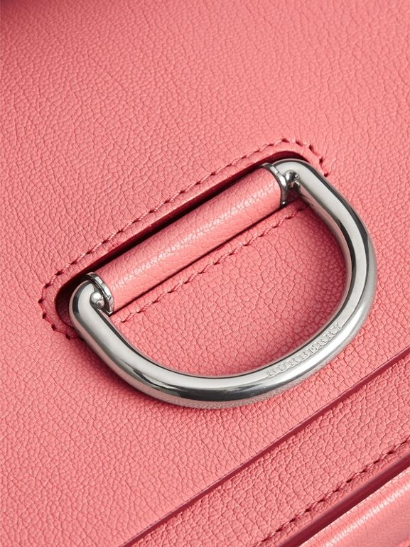 The Small Leather D-ring Bag in Bright Coral Pink - Women | Burberry Canada - cell image 1