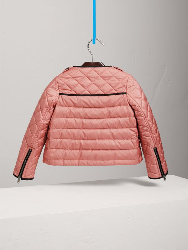 Showerproof Down-filled Jacket in Pale Rose | Burberry - cell image 3