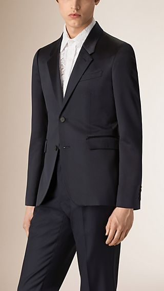 Technical Silk Tailored Jacket