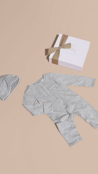 Cotton Two-Piece Baby Gift Set