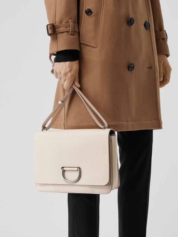 Sac The D-ring moyen en cuir (Stone) - Femme | Burberry - cell image 3