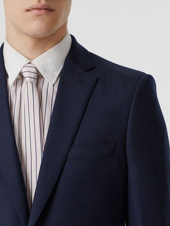 Classic Fit Wool Suit in Navy - Men | Burberry United States - cell image 1