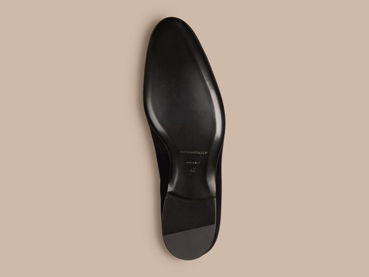 Dark indigo Velvet Loafers - cell image 4