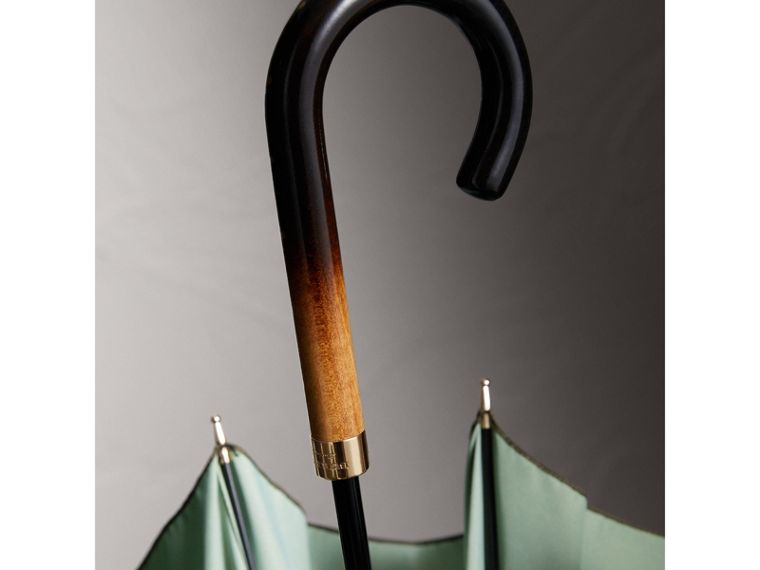 Dégradé Handle Umbrella in Olive | Burberry - cell image 1