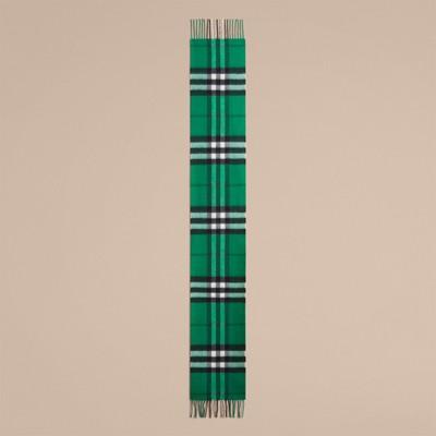 Burberry - Mini écharpe classique en cachemire à motif check - 2