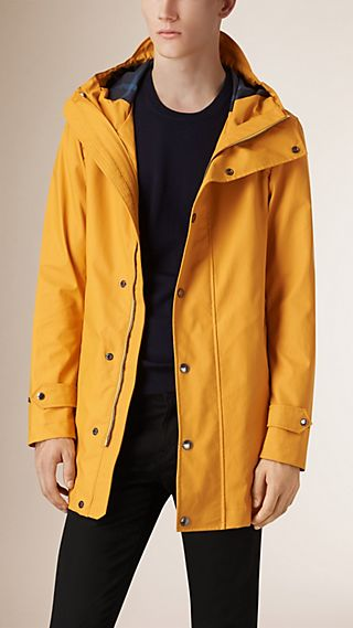 Weatherproof Technical Cotton Coat
