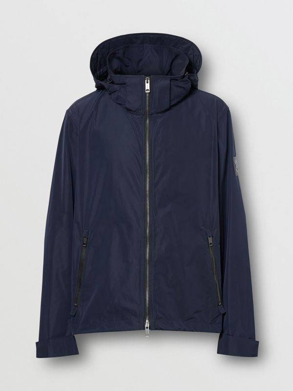 Packaway Hood Shape-memory Taffeta Jacket in Ink - Men | Burberry Australia - cell image 3