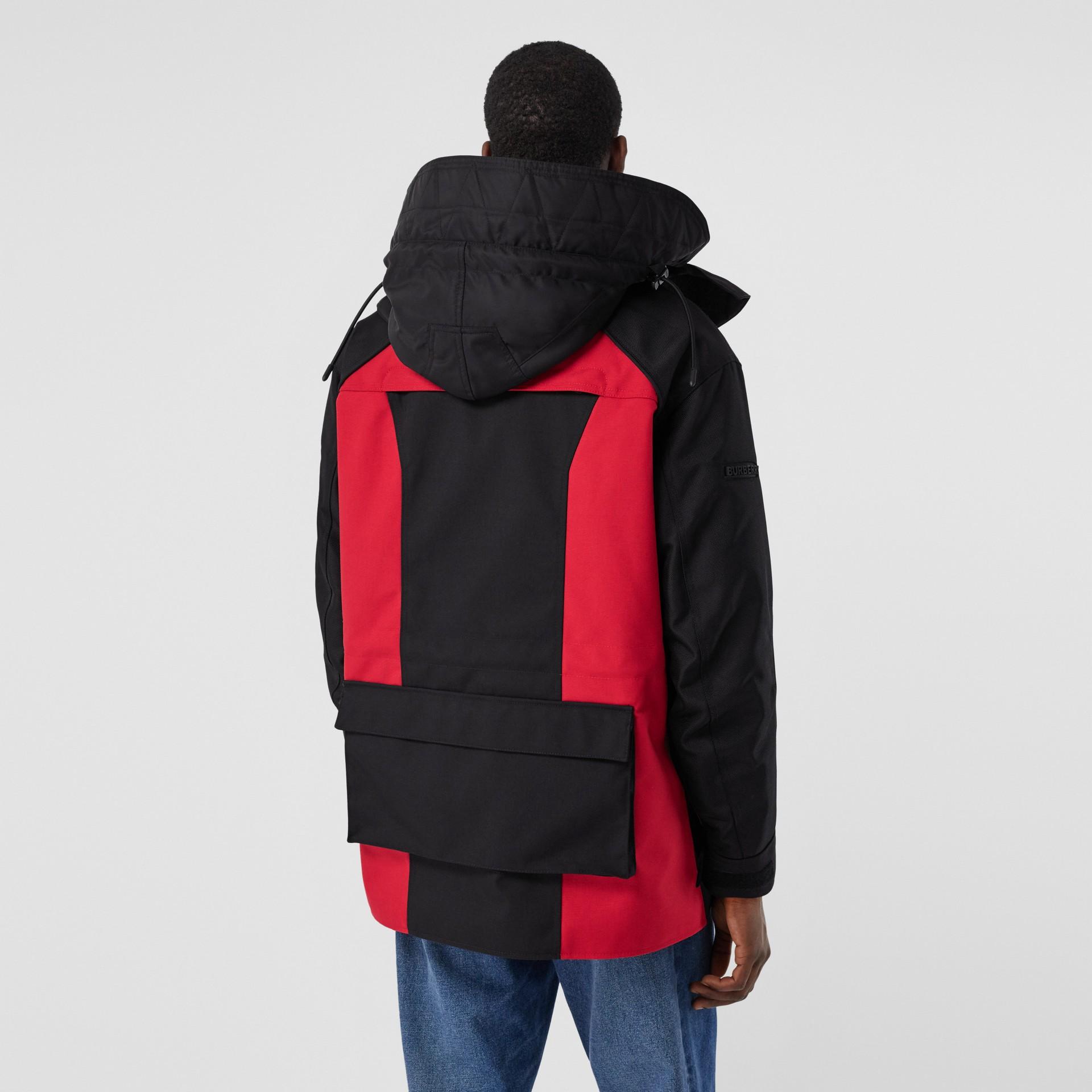 Нейлоновая куртка со съемной подкладкой в виде пуховой куртки (Черный) - Для мужчин | Burberry - изображение 2