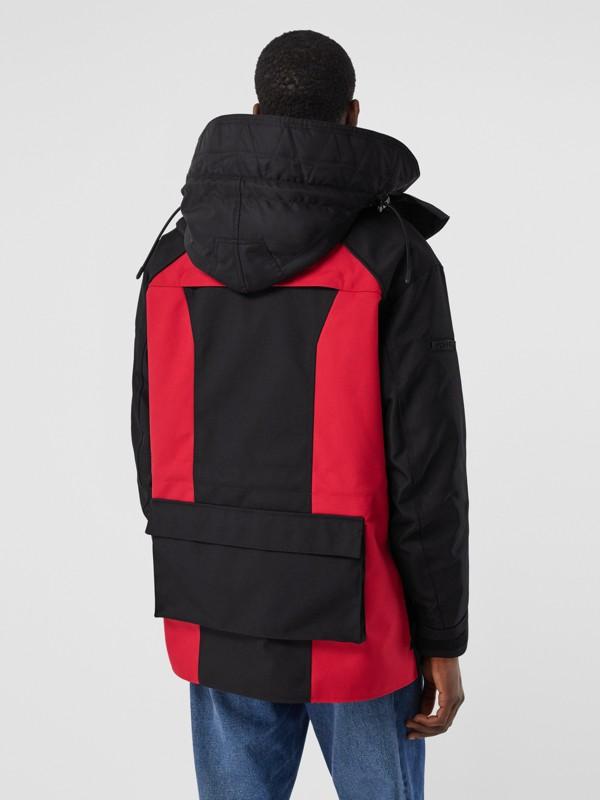 Нейлоновая куртка со съемной подкладкой в виде пуховой куртки (Черный) - Для мужчин | Burberry - cell image 2