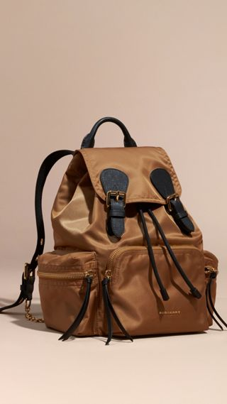 Sac The Rucksack medium en nylon technique et cuir