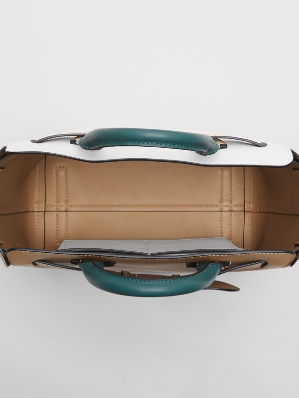 The Medium Tri-tone Leather Belt Bag in Light Camel - Women | Burberry Australia - cell image 3