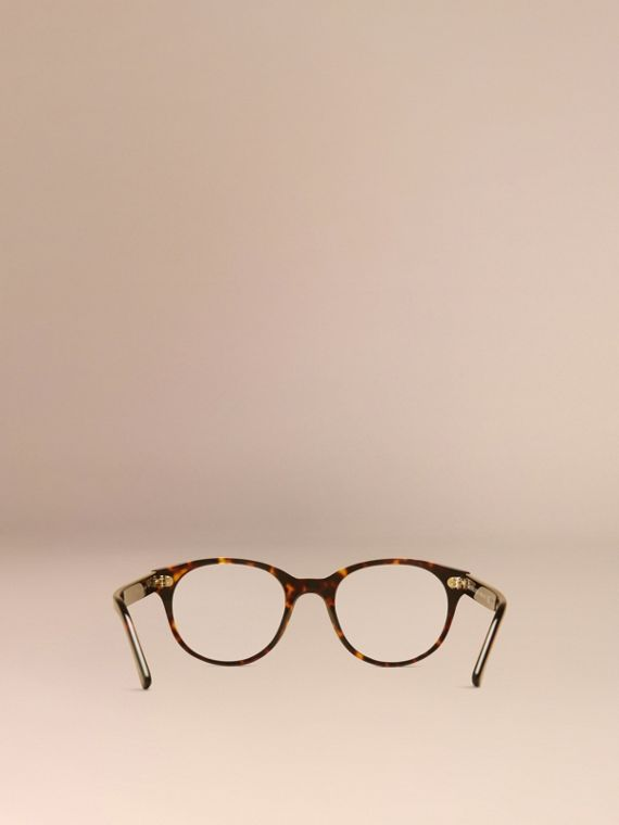Round Optical Frames in Tortoise Shell - cell image 3