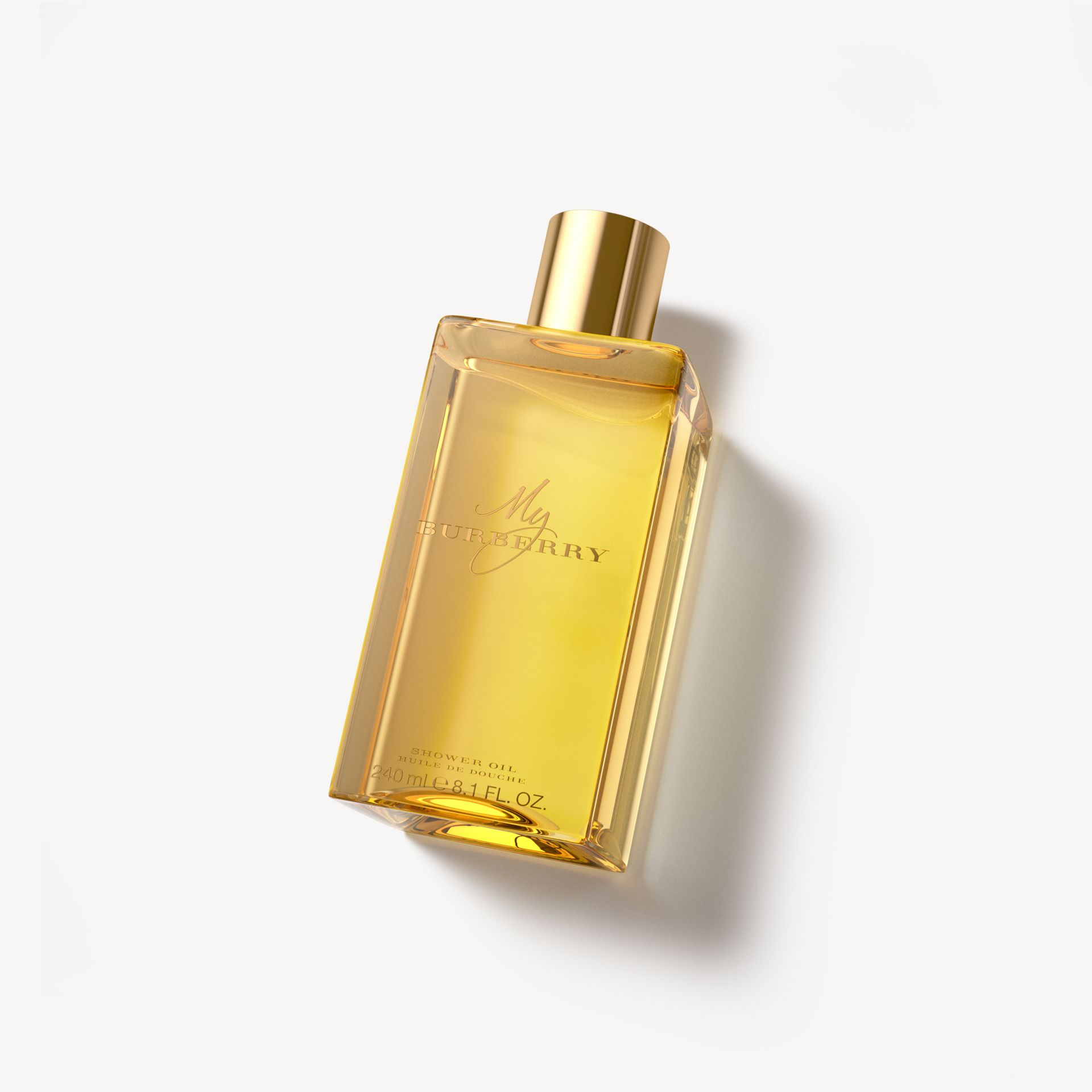 My Burberry Shower Oil 240ml in Honey Trench - Women | Burberry United Kingdom - gallery image 1