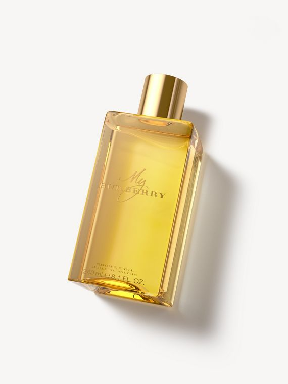 Olio doccia My Burberry da 240 ml (Honey Trench)