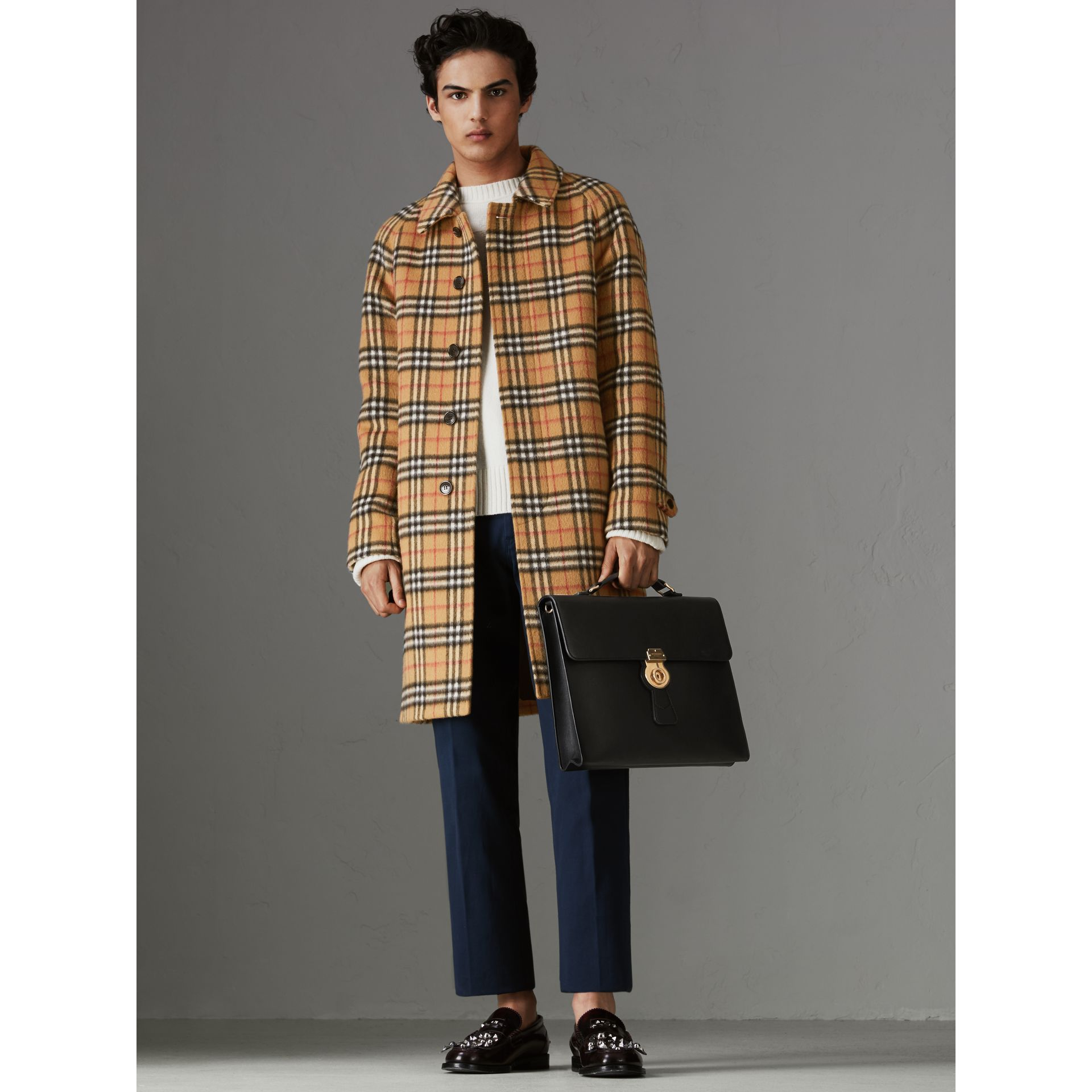 Grand porte-documents DK88 (Noir/noir) - Homme | Burberry Canada - photo de la galerie 2