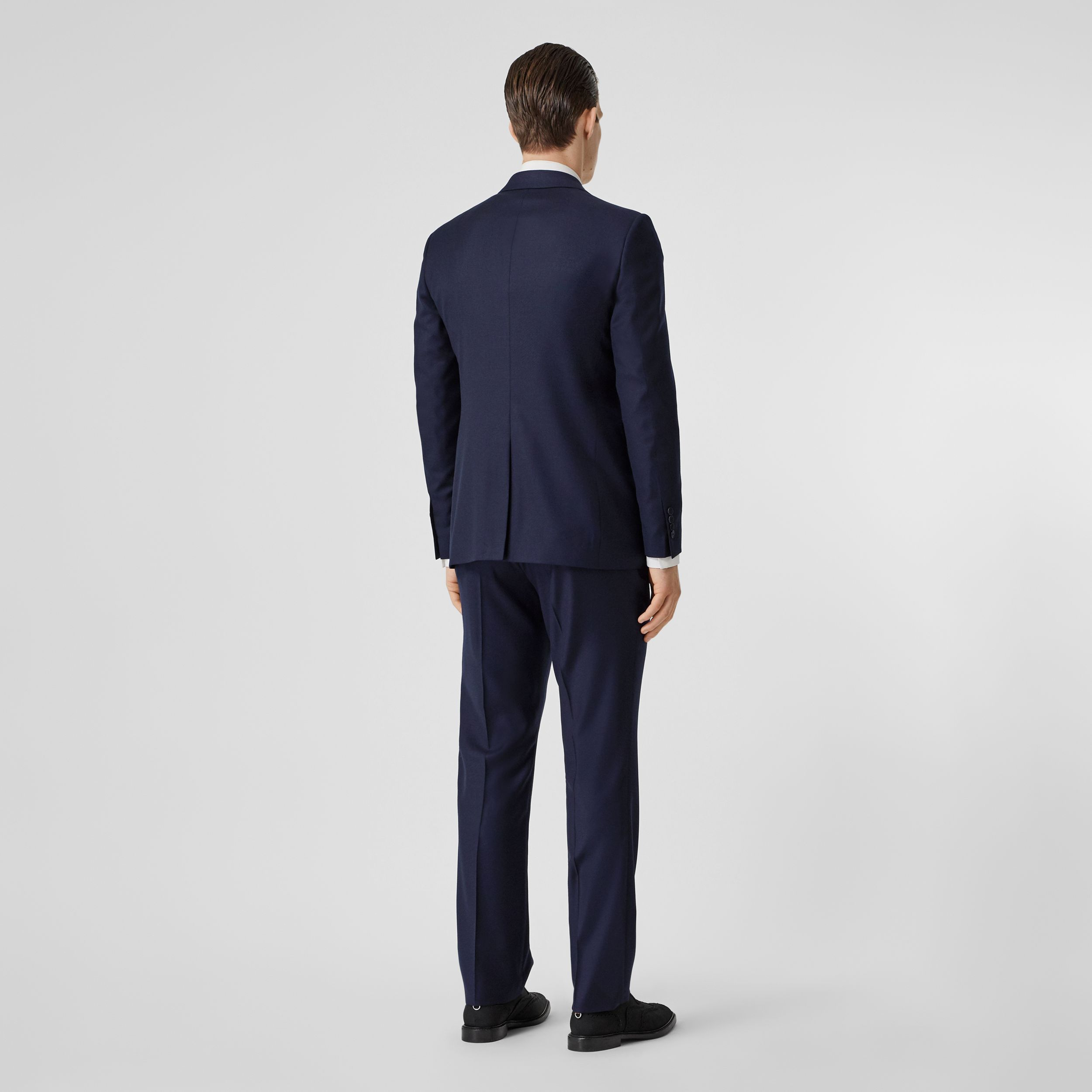 Classic Fit Wool Suit in Navy - Men | Burberry - 3