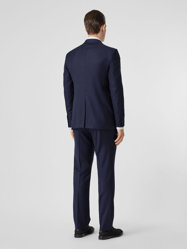 Classic Fit Wool Suit in Navy - Men | Burberry United Kingdom - cell image 2