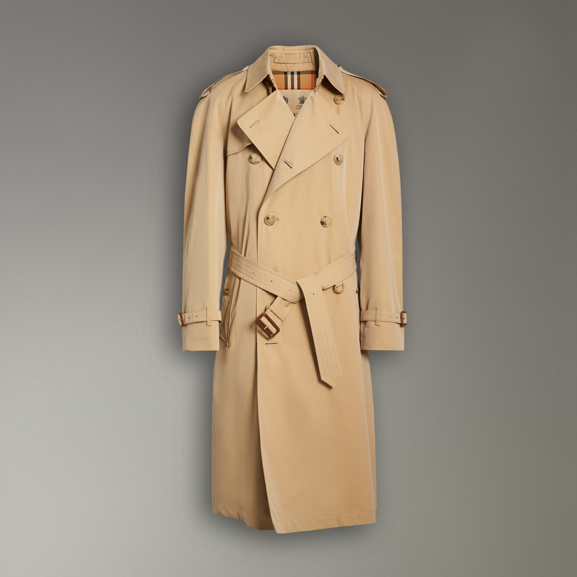 The Westminster Heritage Trench Coat in Honey - Men | Burberry Singapore - gallery image 3