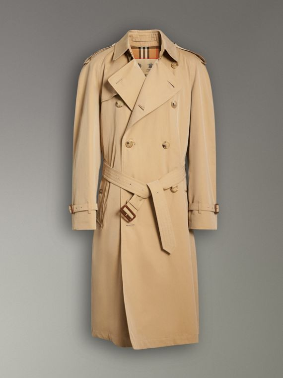 The Westminster Heritage Trench Coat in Honey - Men | Burberry Singapore - cell image 3