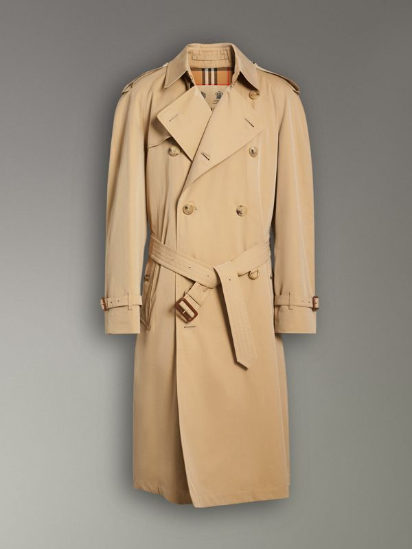 The Westminster Heritage Trench Coat in Honey - Men | Burberry United Kingdom - cell image 3