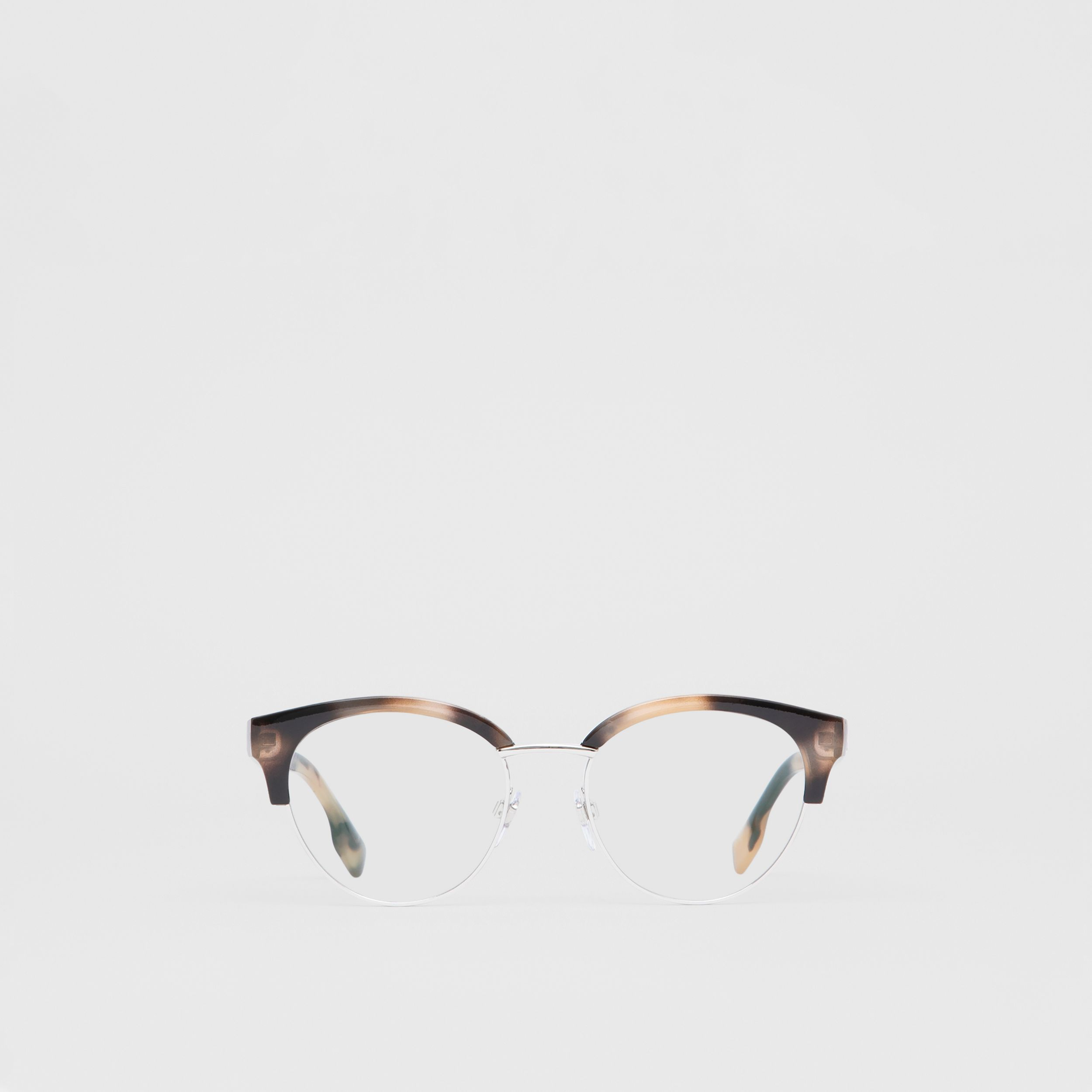 Cat-eye Optical Frames in Bright Tortoiseshell - Women | Burberry - 1