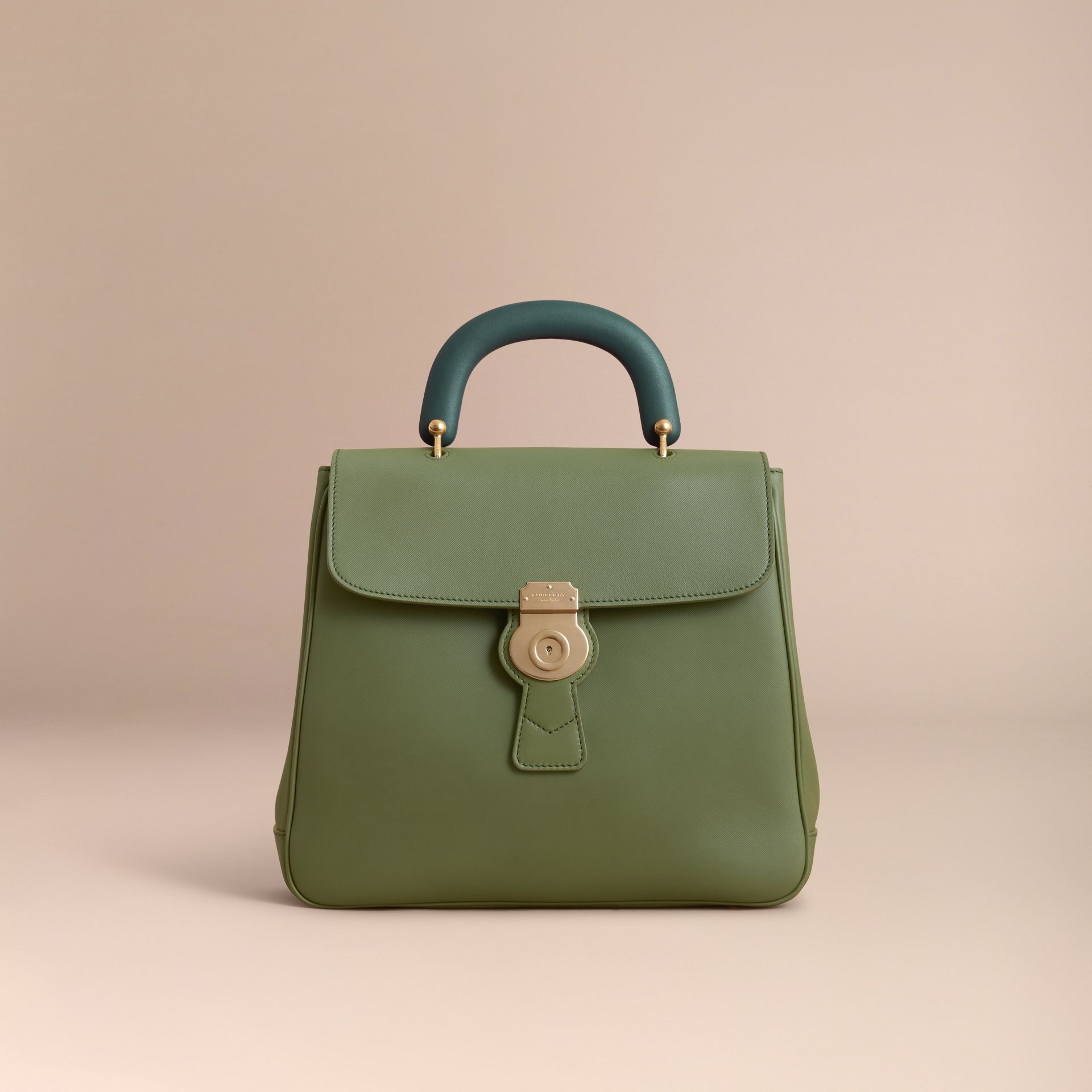 The Large DK88 Top Handle Bag Moss Green - gallery image 8