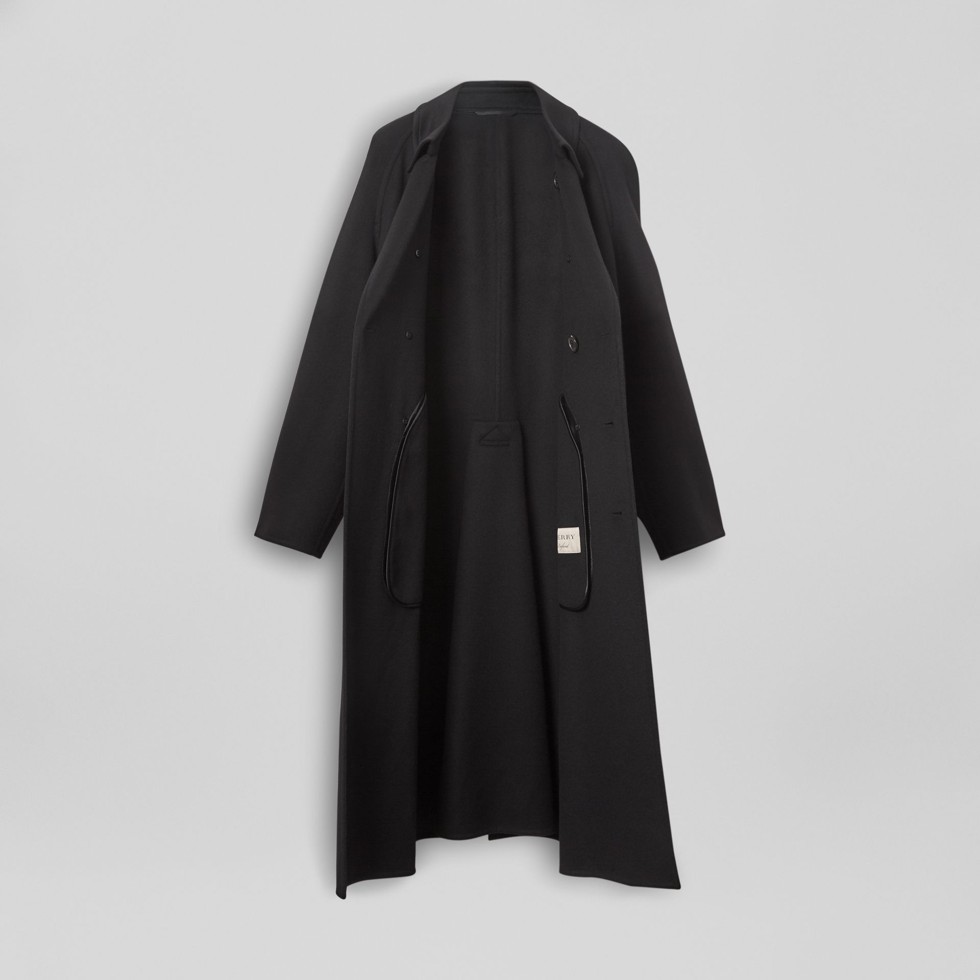 Double-faced Cashmere Trench Coat in Black - Men | Burberry Singapore - gallery image 6