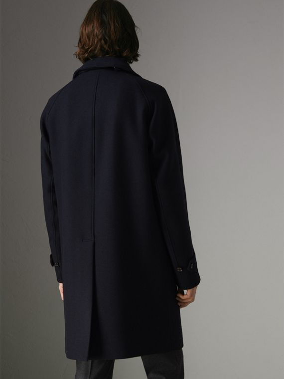 Cashmere Car Coat in Navy - Men | Burberry United Kingdom - cell image 2