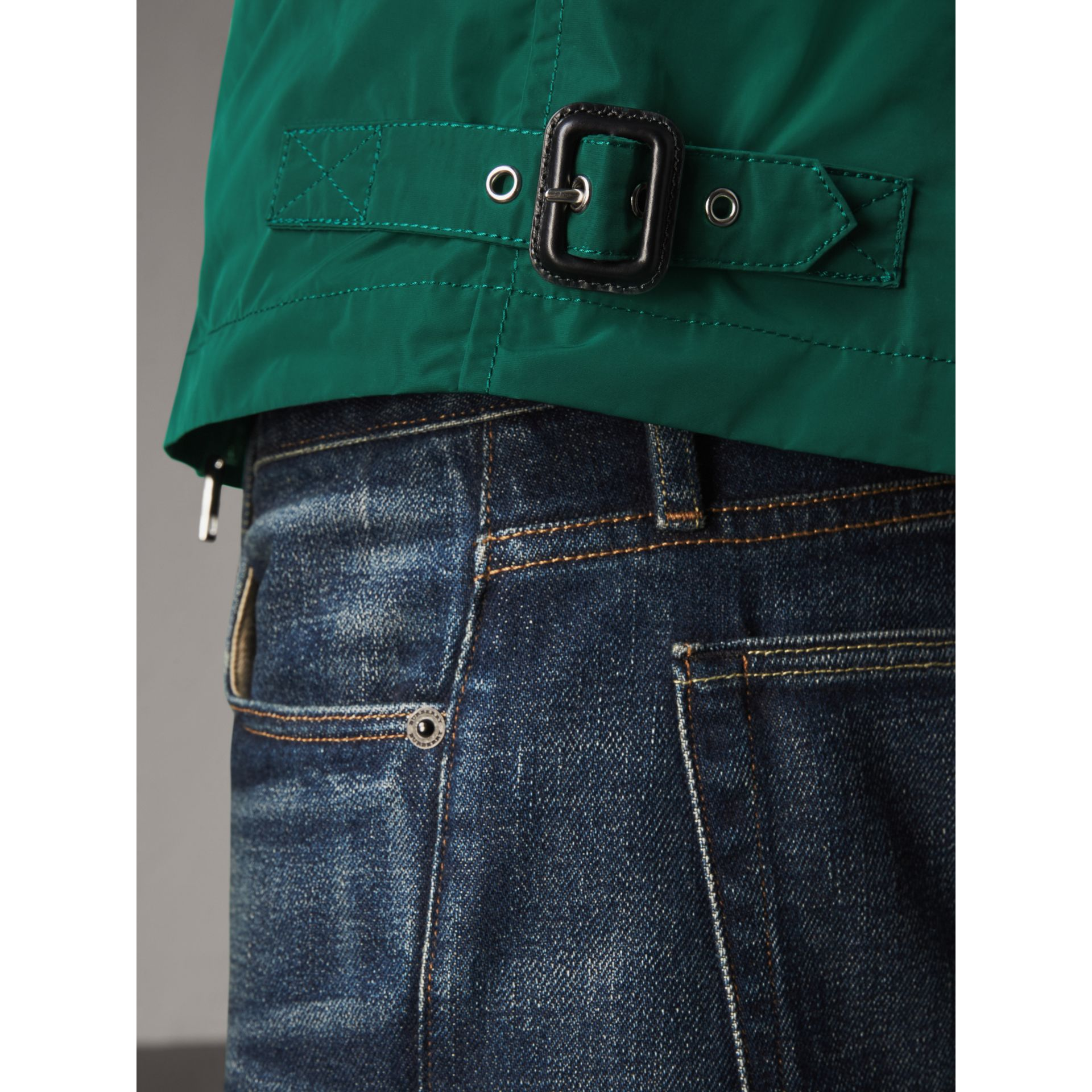 Lightweight Technical Jacket in Racing Green - Men | Burberry - gallery image 5
