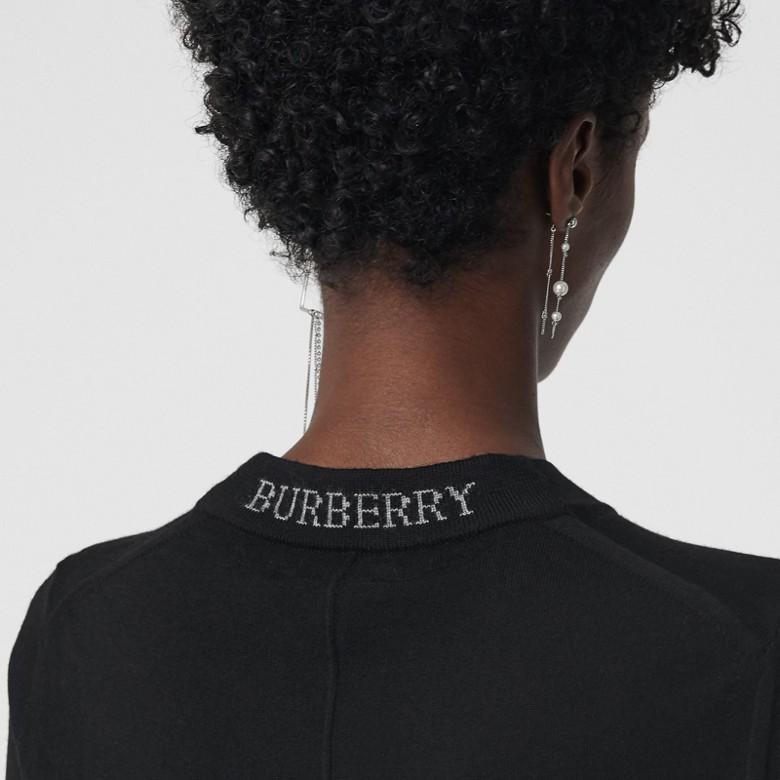 Burberry - Pull ras du cou en laine mérinos - 2