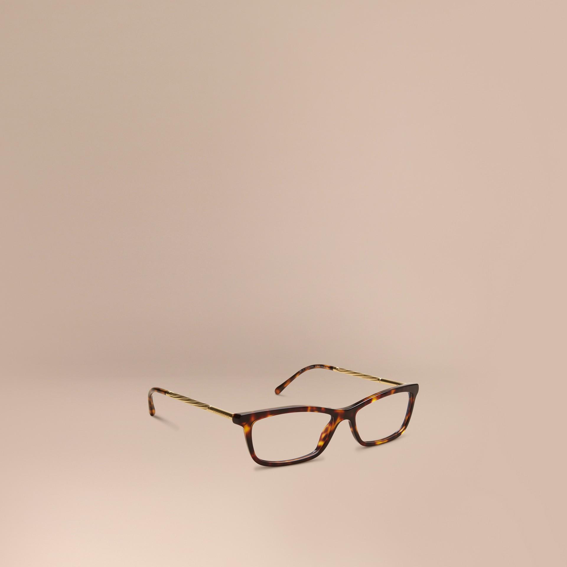 Metallic Detail Cat-eye Optical Frames - gallery image 1